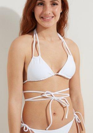 Bikini top - bianco