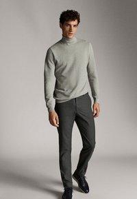 Massimo Dutti - Spodnie materiałowe - dark grey - 1