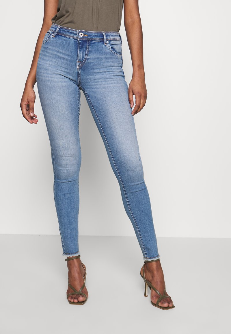 ONLY Tall - ONLALLAN PUSH UP  - Jeans Skinny Fit - light blue denim