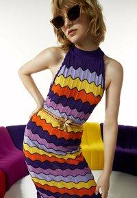 Uterqüe - Day dress - purple - 3