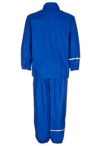 CeLaVi - RAINWEAR SUIT BASIC UNISEX - Waterproof jacket - ocean blue - 2