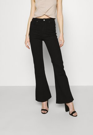 ORIGIINAL - Flared Jeans - black
