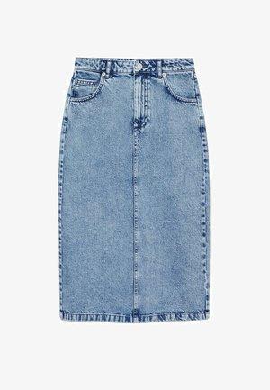 Jupe en jean - blu medio