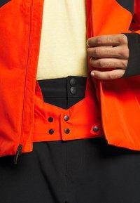 Quiksilver - MISSION PLUS - Snowboard jacket - pureed pumpkin - 7