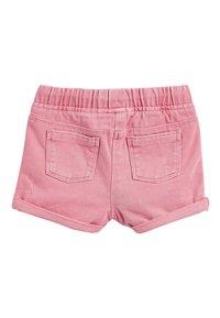 Next - Shorts vaqueros - pink - 1