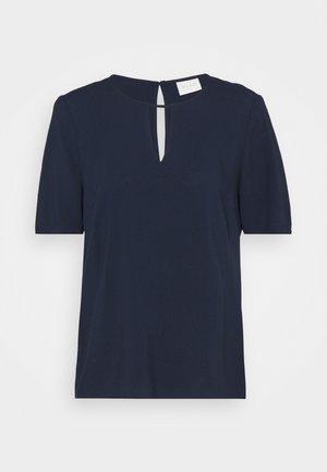 VILANA KEY HOLE - T-shirts - navy blazer
