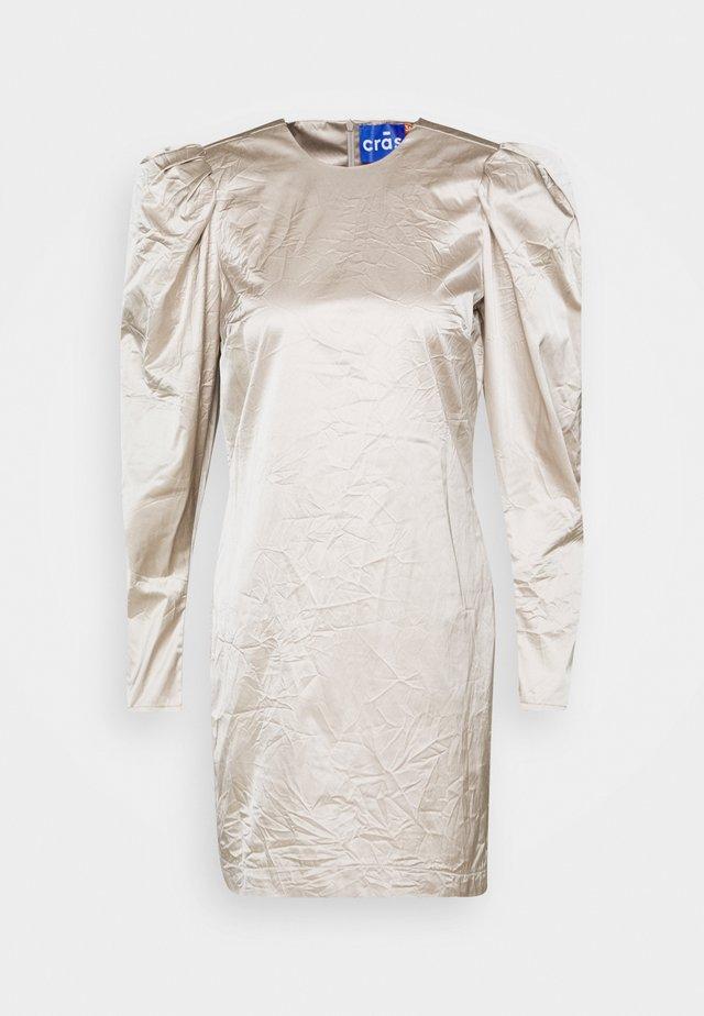 SPACECRAS DRESS - Korte jurk - silver