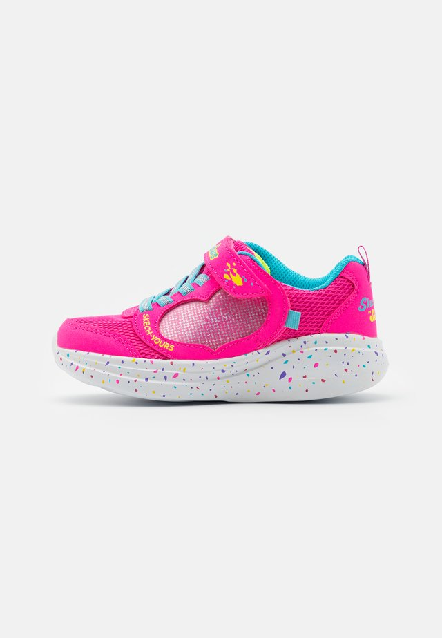 GO RUN FAST - Sneakersy niskie - pink sparkle