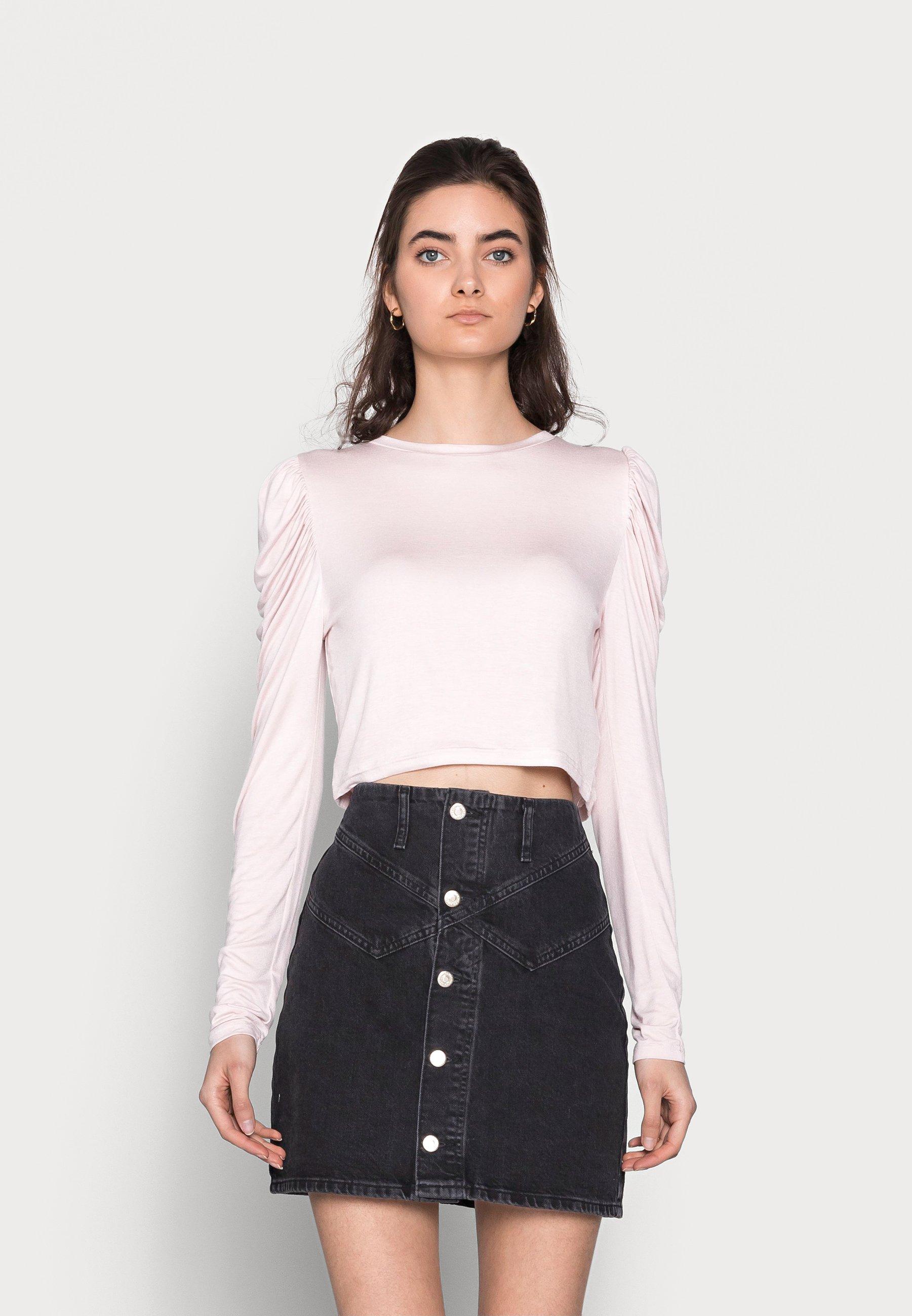 Women LADIES SHELL PINK - Long sleeved top