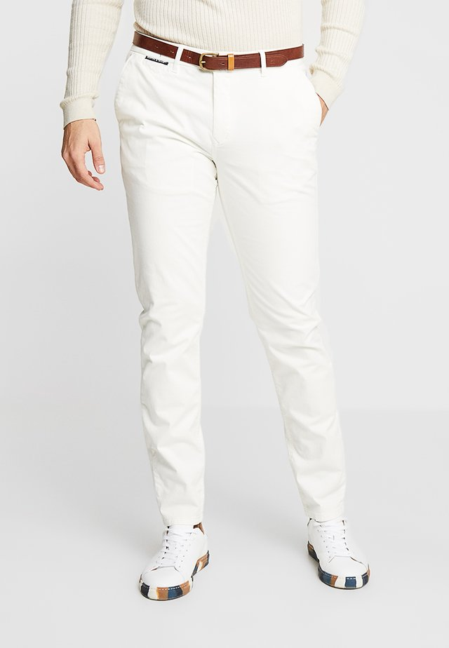 MOTT CLASSIC - Chinos - denim white