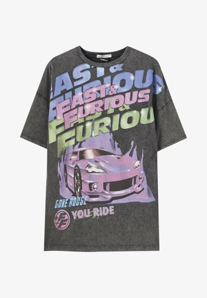 FAST & FURIOUS - Print T-shirt - black