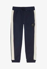 Lil'Boo - BLOCK - Pantalon de survêtement - navy/cream - 2