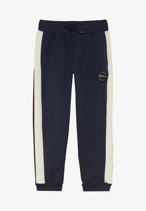 BLOCK - Trainingsbroek - navy/cream