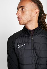 Nike Performance - DRY PAD ACADEMY WINTERIZED - Sweat polaire - black/silver - 3