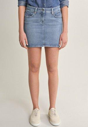 PUSH UP - Pencil skirt - blau