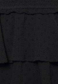 ONLY - ONLLINA SKIRT - Mini skirt - black - 2