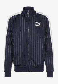 Puma - PINSTRIPE - Zip-up sweatshirt - peacoat - 0