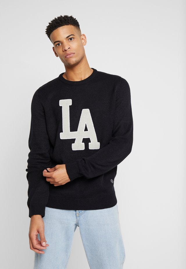 CHICAGO CREW NECK - Neule - black