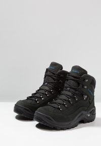 Lowa - RENEGADE GTX MID - Hiking shoes - anthrazit/stahlblau - 2
