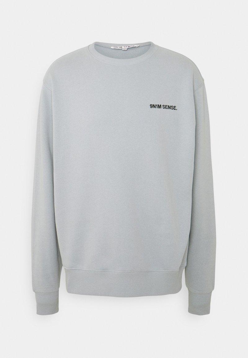9N1M SENSE - LOGO UNISEX - Sweatshirt - grey