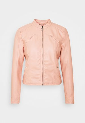 VMFAVODONA - Faux leather jacket - mahogany rose