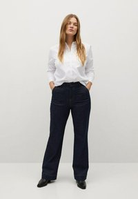 Violeta by Mango - OXFORD - Button-down blouse - wit - 1