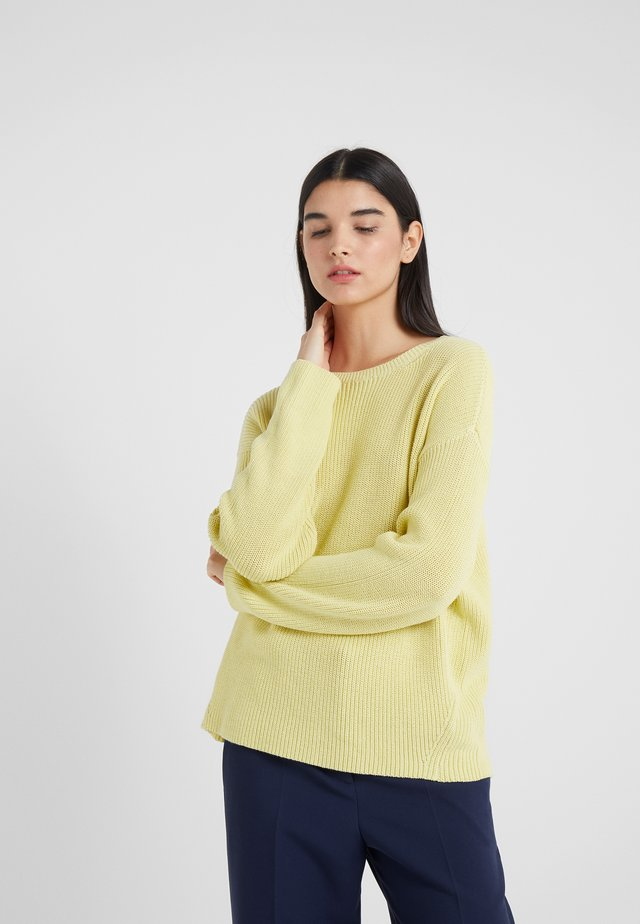 TIMIRA - Pullover - lemon