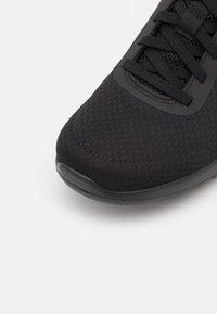 Skechers Performance - GO WALK JOY - Walking trainers - black - 5