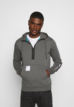 HOODIE - Sweat à capuche - iron grey/black