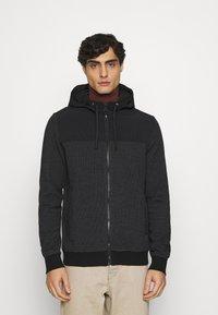 s.Oliver - Zip-up hoodie - black - 0