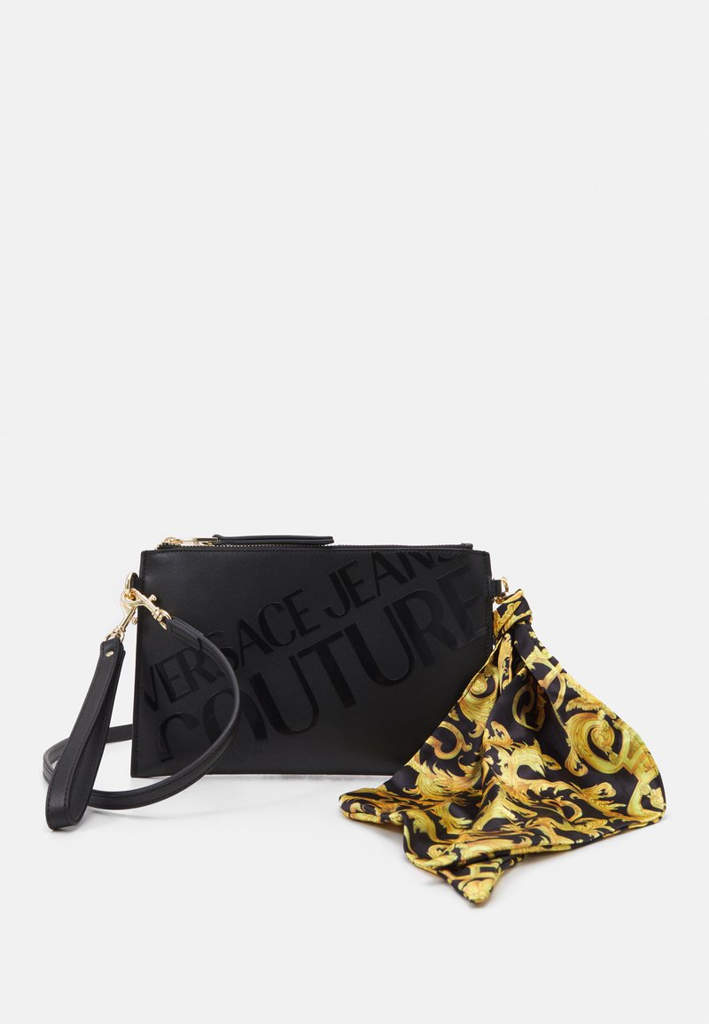 Versace Jeans Couture - THELMA MEDIUM POUCH - Across body bag - nero