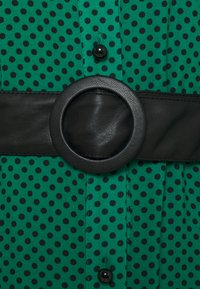 Pinko - MASK ABITO - Maxi dress - verde/nero - 2