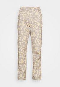 BOYFRIEND FIT GRAFFITI PRINT JEAN - Relaxed fit jeans - multi