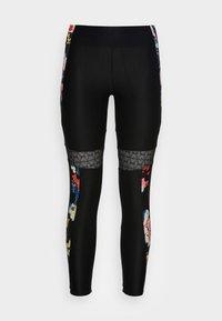 Desigual - CALIX BY CHRISTIAN LAXROIE - Leggings - Trousers - black - 3