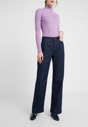 SWEEP - Flared jeans - rinsed