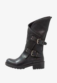 Coolway - ALIDA - Cowboy/Biker boots - black - 1