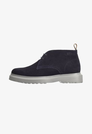 TULIO - Lace-up ankle boots - navy