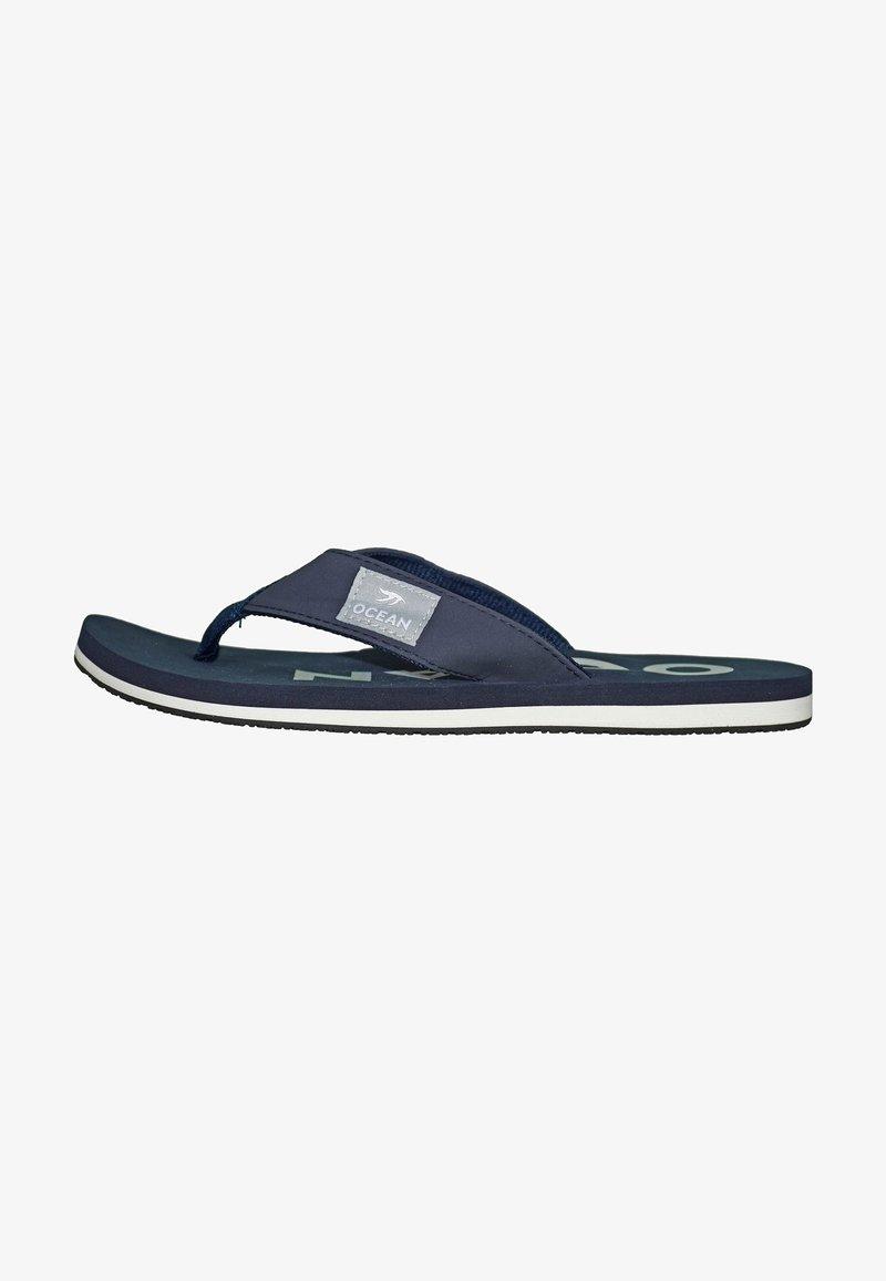 MADSea - Pool shoes - dunkelblau/weiß