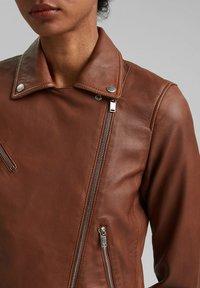 edc by Esprit - Leather jacket - caramel - 5