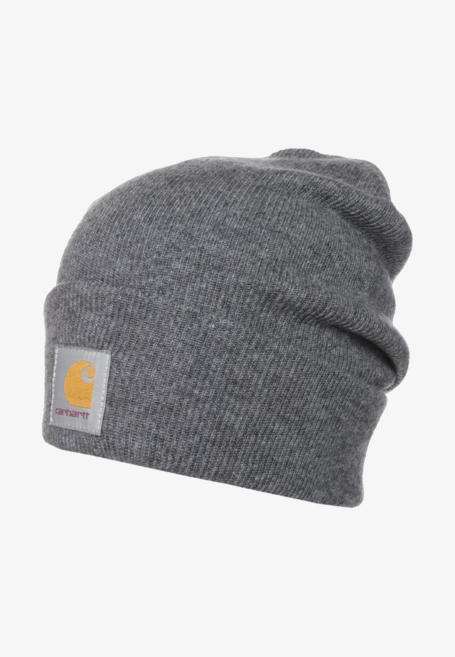 WATCH HAT UNISEX - Mössa - dark grey heather