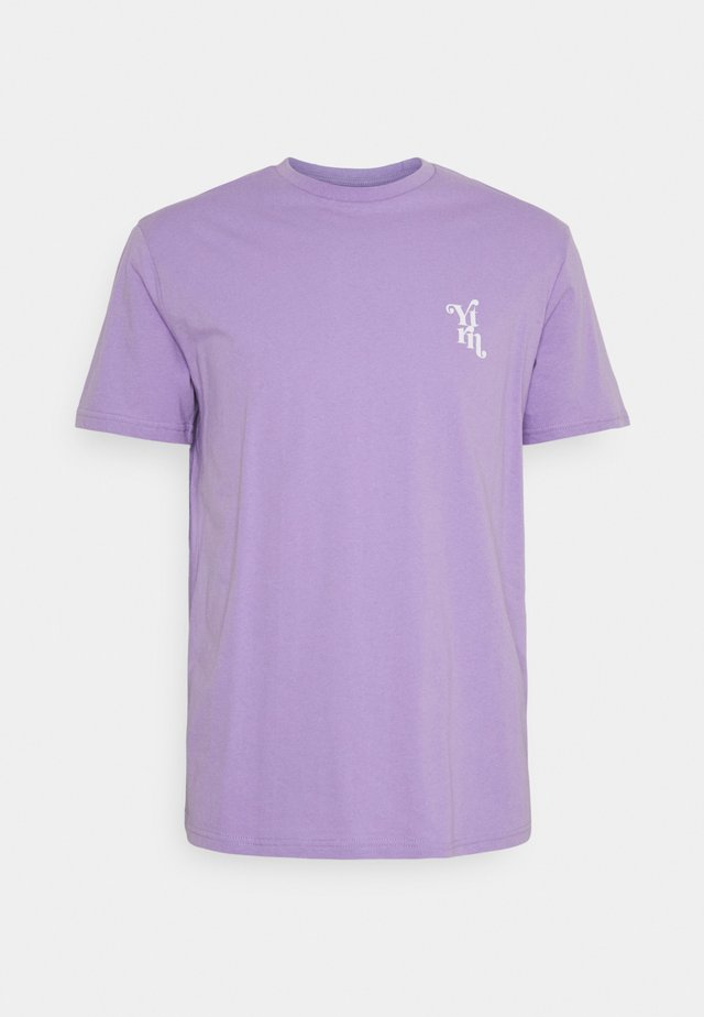 UNISEX - T-shirt med print - purple