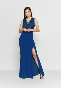 WAL G. - ACCESSORIE MAXI DRESS - Suknia balowa - cobalt blue - 1