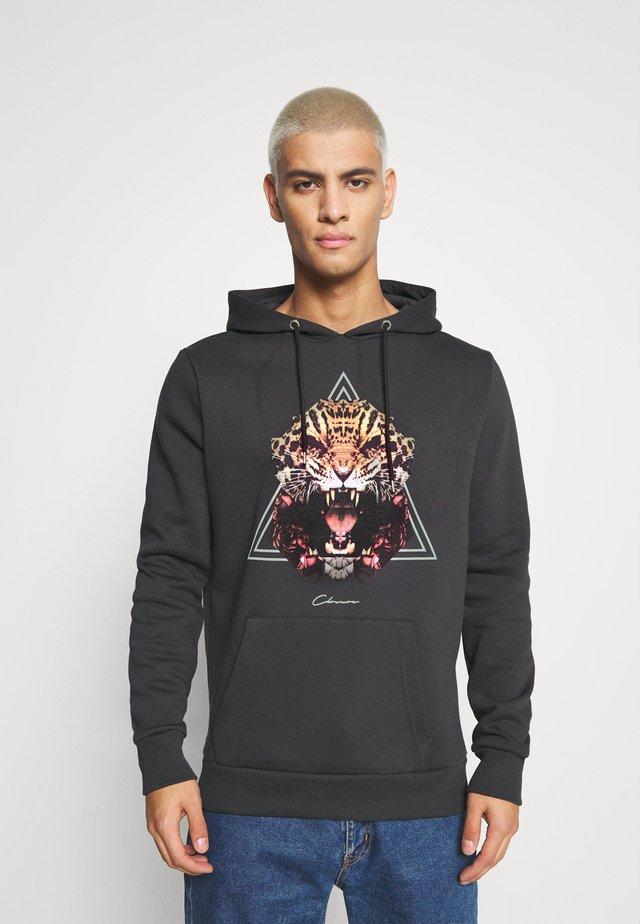JAGUAR HOODY - Sweater - black