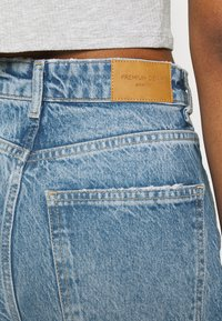 Gina Tricot - IDUN WIDE - Flared jeans - blue destroy - 4
