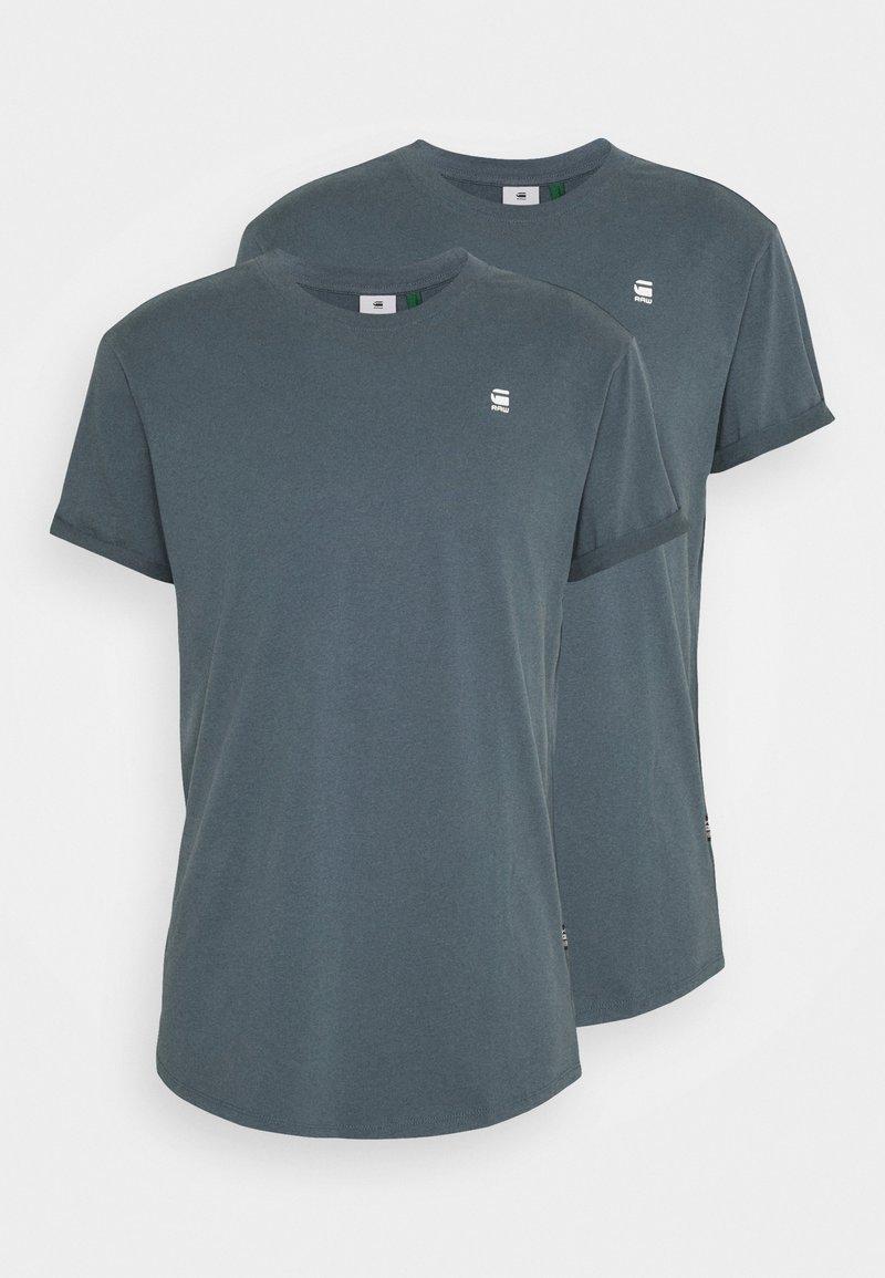 G-Star - LASH 2 PACK - Basic T-shirt - dark slate