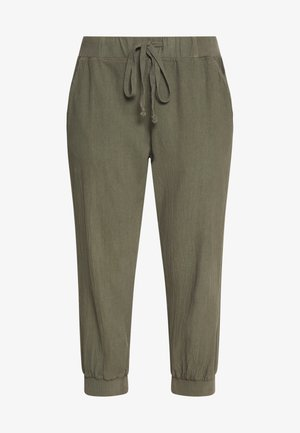 Tracksuit bottoms - grape leaf