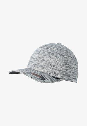 Cap - black/heather grey