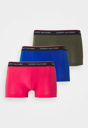 TRUNK 3 PACK - Pants - blue/carmine/army green