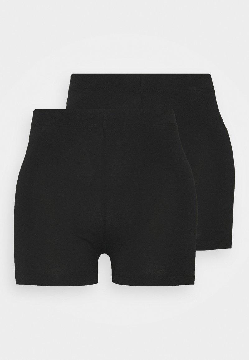 Even&Odd Tall - 2 PACK - Shorts - black