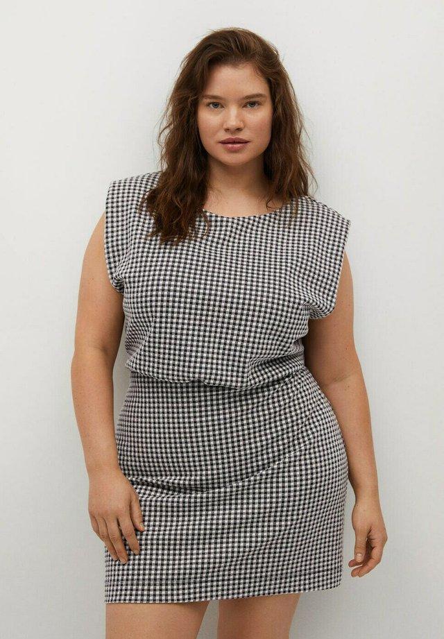 VICKY - Sukienka letnia - cremeweiß